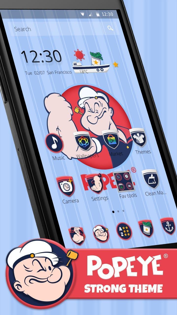 Popeye Badge For Android APK Download