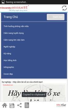 Cẩm Nang Nghề Nghiệp-tim viec screenshot 5