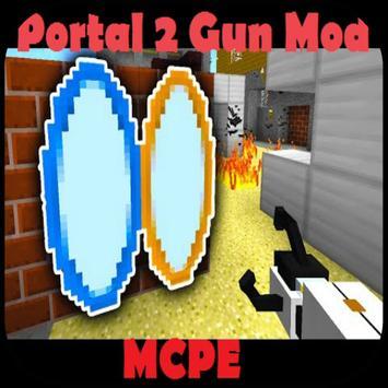 Portal 2 Gun for Minecraft screenshot 1