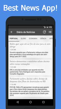 News Portugal apk screenshot