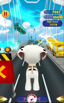 Paw Marshall Run Patrol Adventure screenshot 1