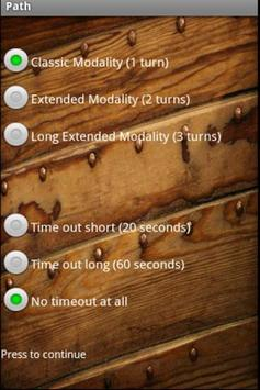 Chess Path Game screenshot 1