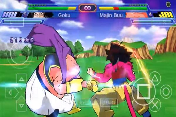 PPSSPP Dragon Ball Z Shin Budokai 2 Hint for Android - APK