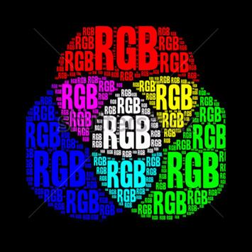 RGB Bluetooth poster