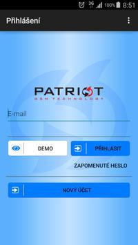 Patriot GPS poster