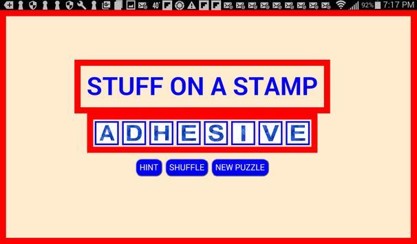 WordBoxx Word Puzzles poster