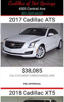 Cadillac of Hot Springs poster