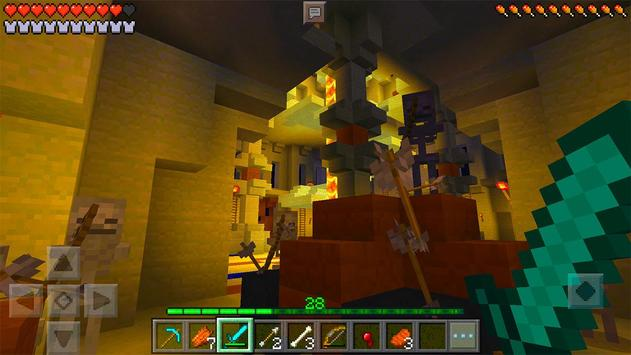 MCPE map Desert Dungeon Survival screenshot 10