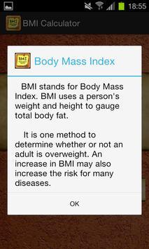 BMI Calculator screenshot 1