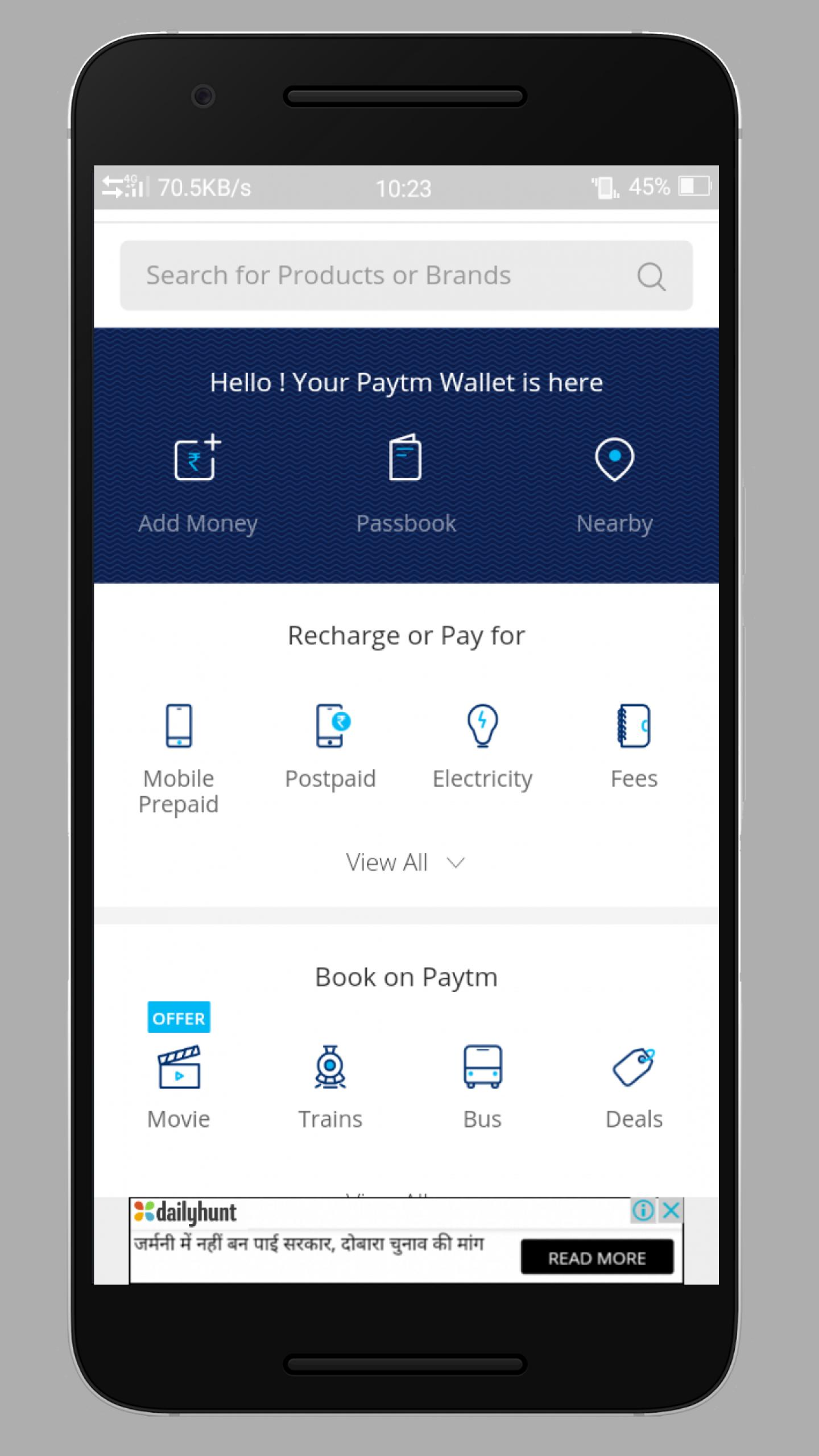 Top 12 Paytm App Free Download For Android 2 3 - Gorgeous Tiny