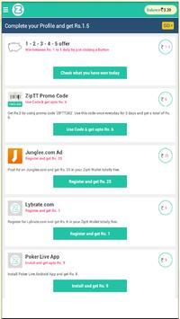 recharge paytm coupons apk screenshot