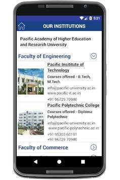 Pacific University screenshot 3