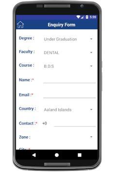 Pacific University screenshot 1