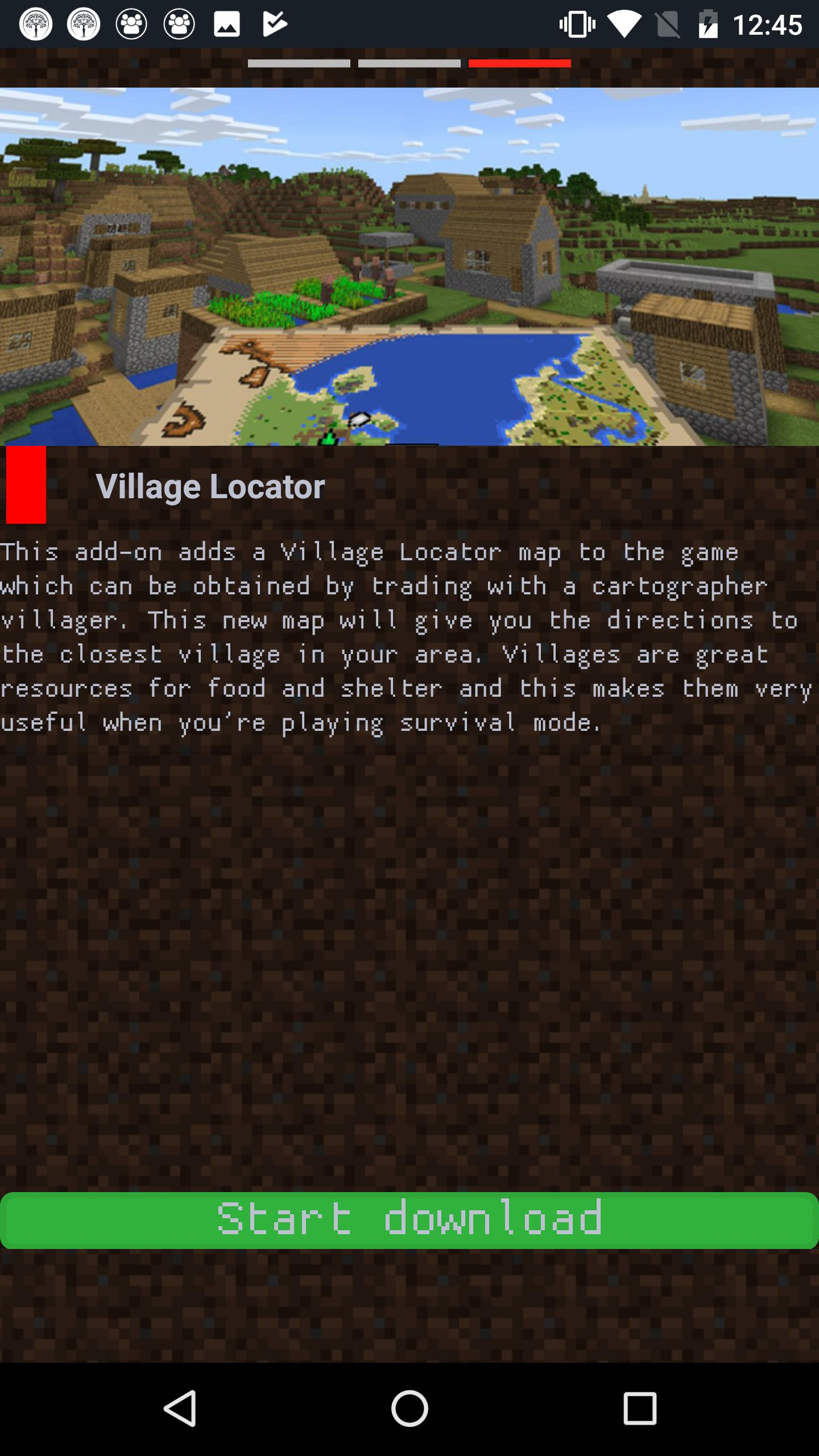 Village Pack: maps for Minecraft PE & addons for Android - APK Download