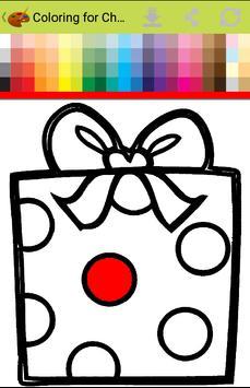 Christmas Coloring box - Santa gives gifts to you apk screenshot