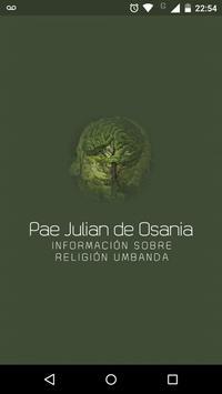 Pae Julian de Osania - Umbanda poster