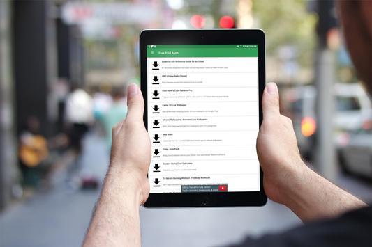 Free Paid Apps ảnh chụp màn hình 5