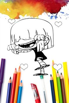 How to Paint for Loud House Fans apk screenshot