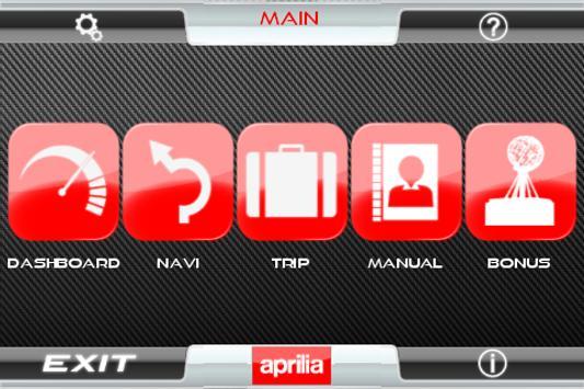 Aprilia Multimedia Platform poster