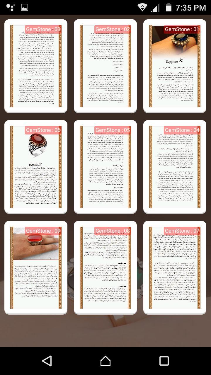 Benefits of GemStones poster