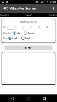 NFC MIFARE® Card Key Scanner screenshot 1