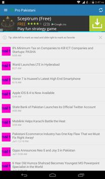 Pakistan Daily News App screenshot 7