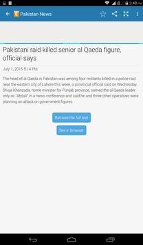 Pakistan Daily News App screenshot 14