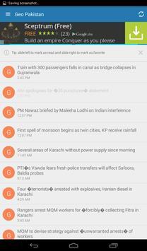 Pakistan Daily News App screenshot 2