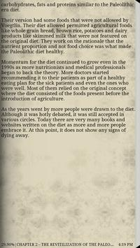Living Life the Paleo Way poster