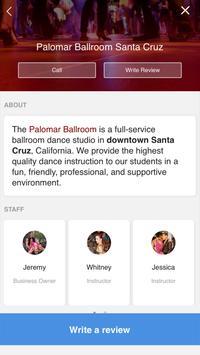 Palomar Ballroom poster