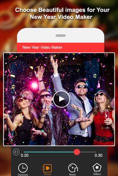 Happy New Year Video Maker screenshot 2