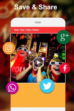 Happy New Year Video Maker screenshot 4