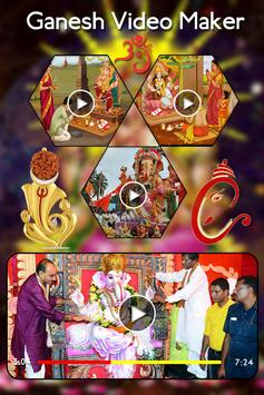 Ganesh Chaturthi Video Maker - Slideshow Maker poster