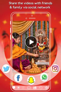 Ganesh Chaturthi Video Maker - Slideshow Maker apk screenshot