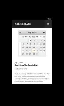 God's Breath Devotional apk screenshot