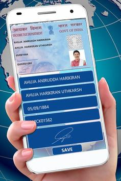 Pan Android - Maker Id Apk Card For Download Fake