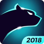 Cheetah Keyboard gifs, emoji en 3D-thema's-icoon