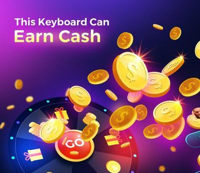 Cheetah Keyboard gifs, emoji en 3D-thema's-poster