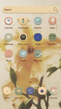 Mystic Silk  - Panda Launcher Theme apk screenshot