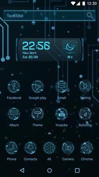 Tech Obit  - Panda Launcher Theme poster