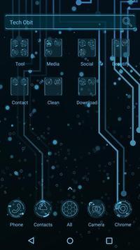 Tech Obit  - Panda Launcher Theme apk screenshot