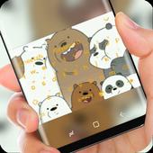 Panda Brother keyboard theme icon