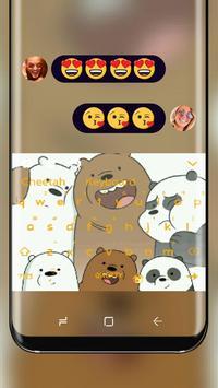 Panda Brother keyboard theme poster