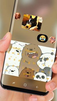 Panda Brother keyboard theme screenshot 2