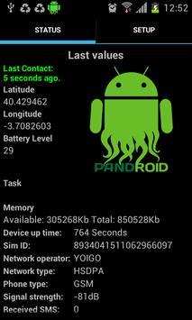 Pandroid: Pandora FMS Agent poster