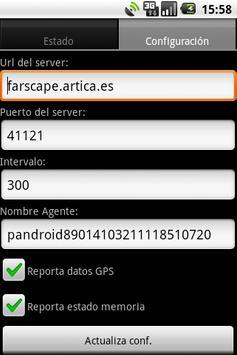 Pandroid: Pandora FMS Agent apk screenshot