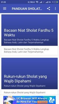 PANDUAN SHOLAT WAJIB screenshot 1