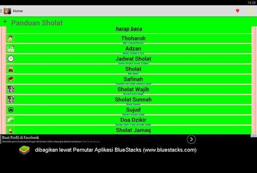 Islamic book apk screenshot