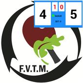 Marcador (FVTM) Tenis de Mesa icon