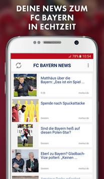 FC Bayern München App - News, Spielplan poster